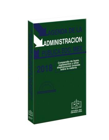 AGENDA DE LA ADMINISTRACION PÚBLICA DEL ESTADO DE MÉXICO 2017