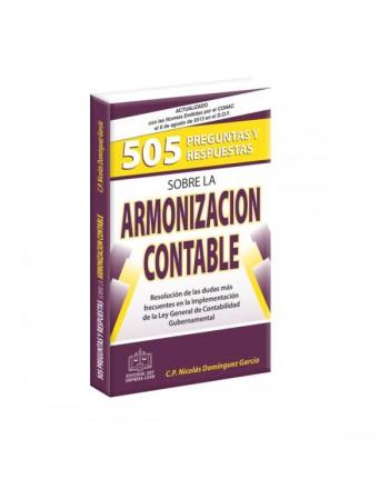 505 Preguntas y Respuestas Sobre Armonización Contable 2013