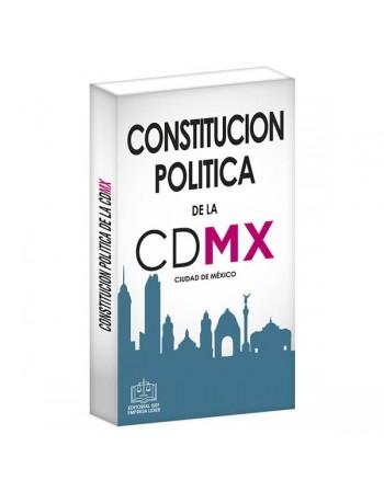 CONSTITUCIÓN POLÍTICA DE LA CIUDAD DE MÉXICO
