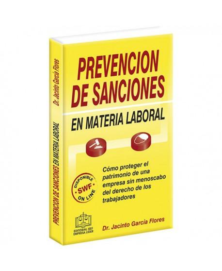 PREVENCIÓN DE SANCIONES EN MATERIA LABORAL