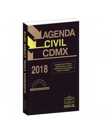 AGENDA CIVIL DE LA CIUDAD DE MÉXICO 2018