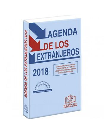 AGENDA DE LOS EXTRANJEROS 2018