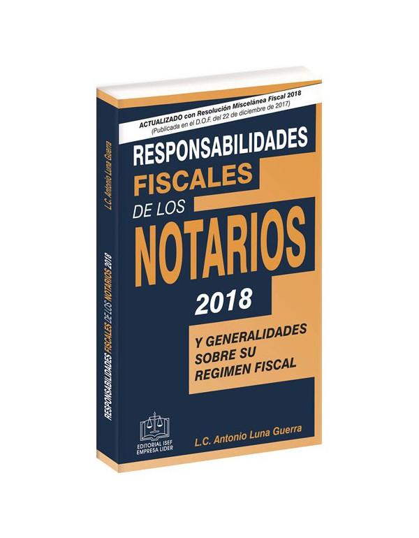 SWF RESPONSABILIDADES FISCALES DE LOS NOTARIOS 2018