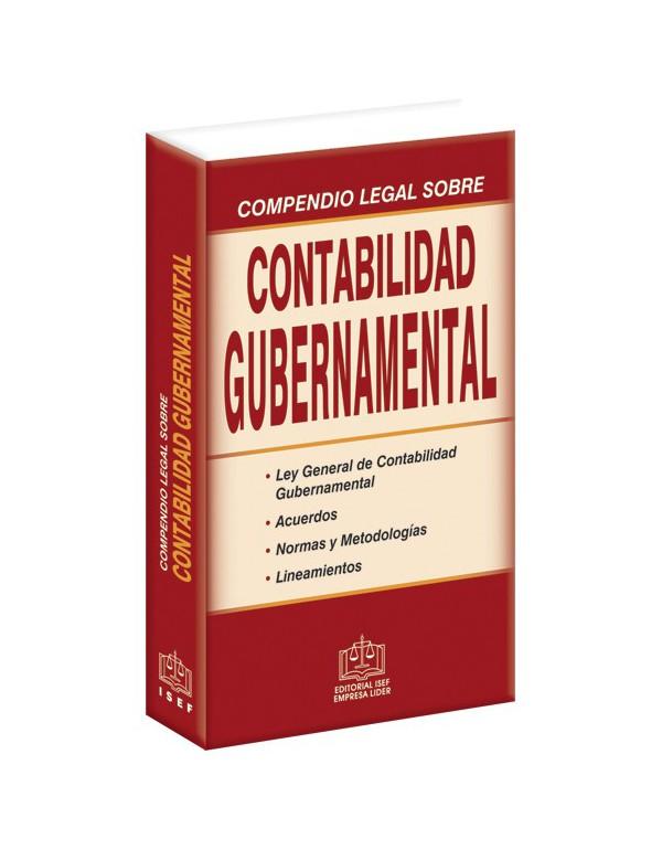 Compendio De Contabilidad Gubernamental 2018