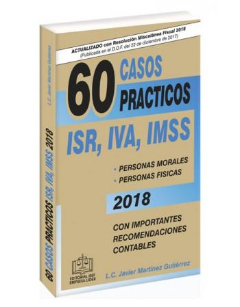 SWF 60 CASOS PRÁCTICOS ISR, IVA, IMSS 2018