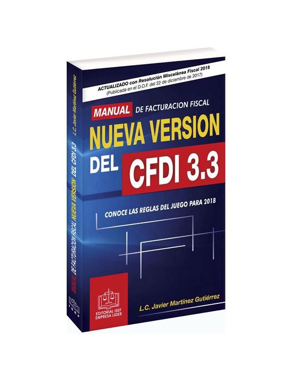 SWF MANUAL DE FACTURACIÓN FISCAL NUEVA VERSIÓN DEL CFDI 3.3