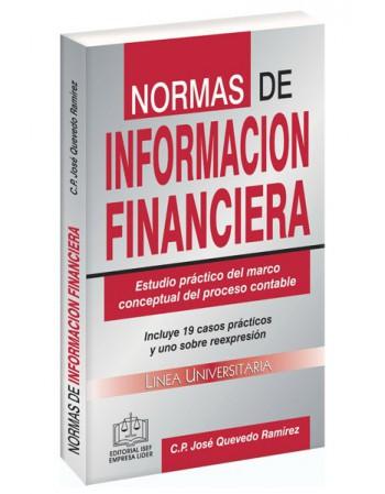SWF NORMAS DE INFORMACIÓN FINANCIERA