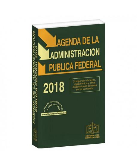 AGENDA DE LA ADMINISTRACIÓN PÚBLICA FEDERAL 2018