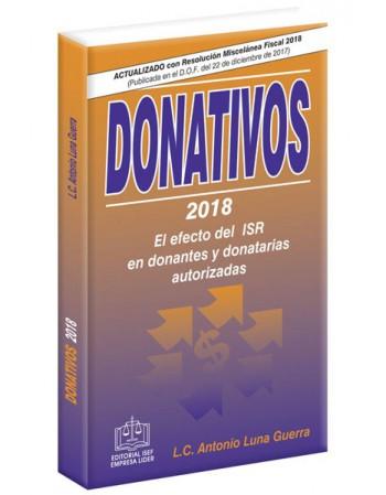 SWF DONATIVOS EL EFECTO DEL ISR EN DONANTES Y DONATARIAS AUTORIZADAS 2018