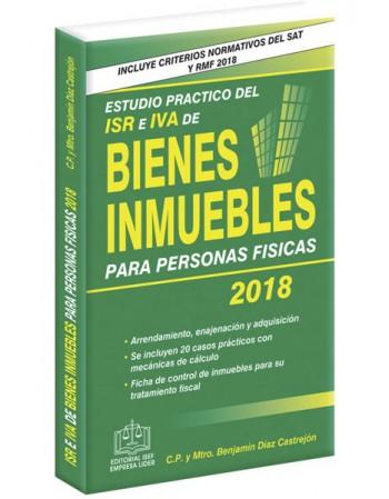 ESTUDIO PRÁCTICO DEL ISR E IVA DE BIENES INMUEBLES 2018