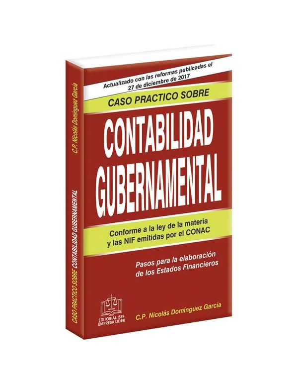 CASO PRACTICO SOBRE CONTABILIDAD GUBERNAMENTAL