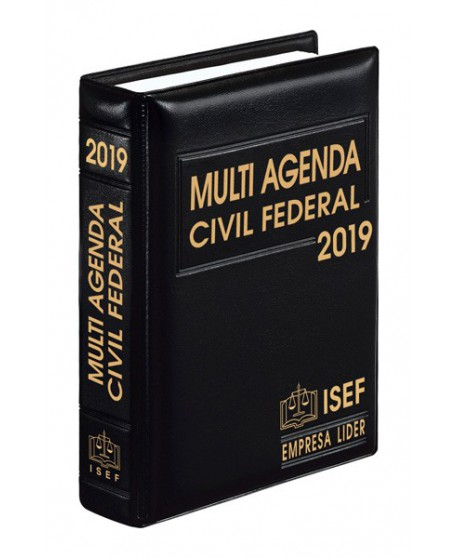 MULTI AGENDA CIVIL FEDERAL 2019
