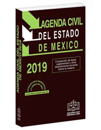 AGENDA CIVIL DEL ESTADO DE MÉXICO 2019