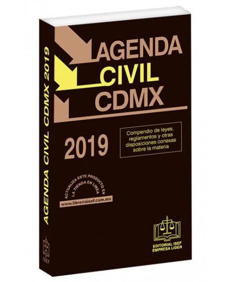 AGENDA CIVIL DE LA CIUDAD DE MÉXICO 2019