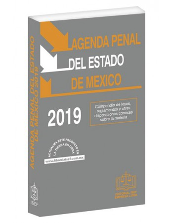 AGENDA PENAL DEL ESTADO DE MÉXICO 2019