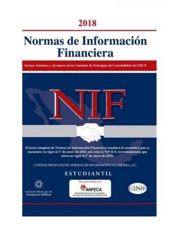 Normas de Información Financiera Estudiantil 2018  (IMCP)
