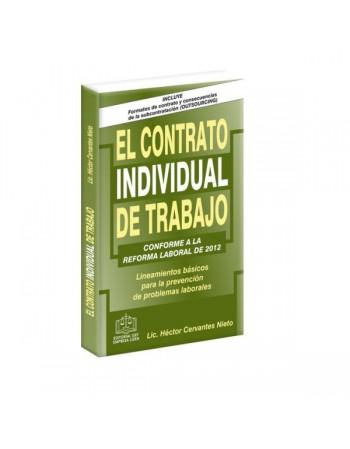 EL CONTRATO INDIVIDUAL DE TRABAJO 2013