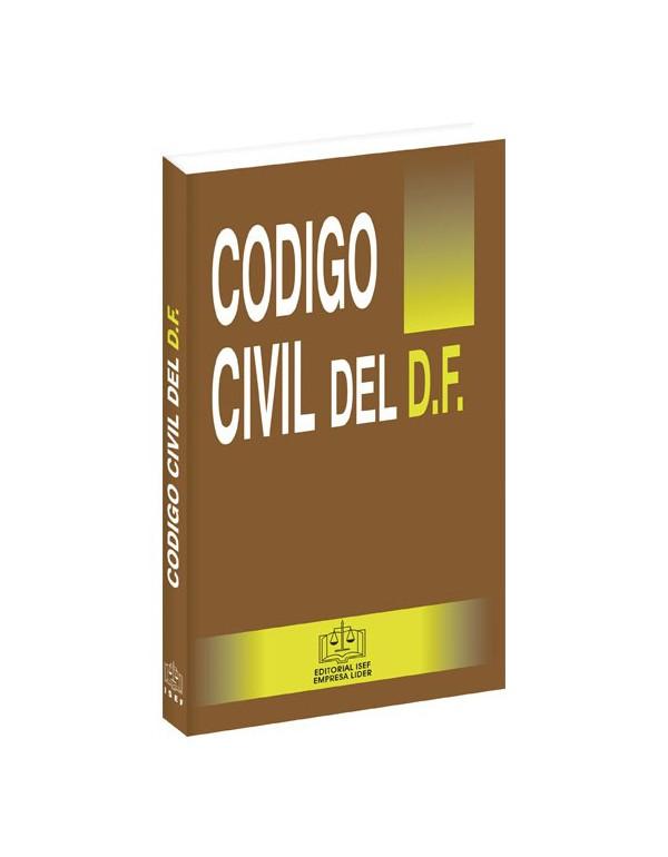 CÓDIGO CIVIL DEL DISTRITO FEDERAL  2019