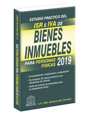 ESTUDIO PRÁCTICO DEL ISR E IVA DE BIENES INMUEBLES 2019