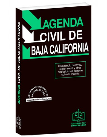 AGENDA CIVIL DE BAJA CALIFORNIA 2019
