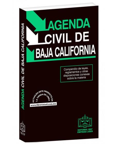 AGENDA CIVIL DE BAJA CALIFORNIA 2019