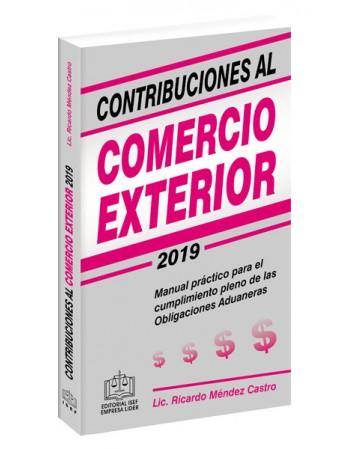 CONTRIBUCIONES AL COMERCIO EXTERIOR 2019