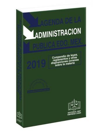 AGENDA DE LA ADMINISTRACION PÚBLICA DEL ESTADO DE MÉXICO 2019