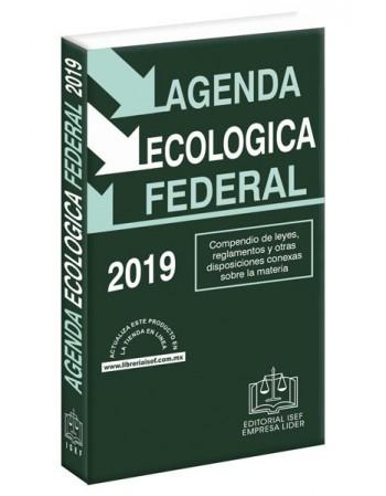 AGENDA ECOLÓGICA FEDERAL 2019