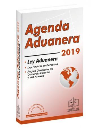 AGENDA ADUANERA Y REGLAMENTO 2019