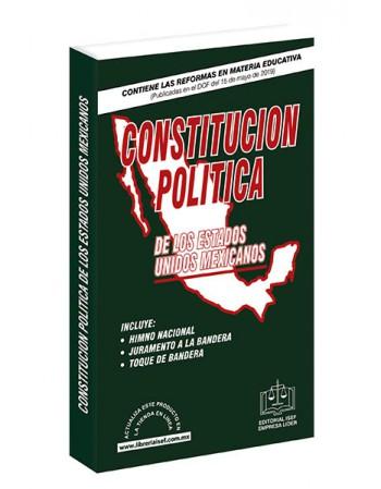 CONSTITUCIÓN POLÍTICA DE LOS ESTADOS UNIDOS MEXICANOS 2019