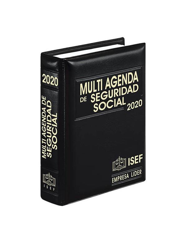 MULTI AGENDA DE SEGURIDAD SOCIAL Y COMPLEMENTO 2020