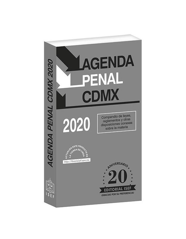 AGENDA PENAL DE LA CIUDAD DE MÉXICO 2020
