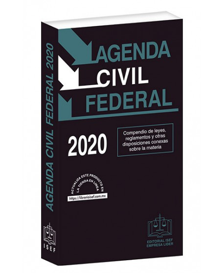 AGENDA CIVIL FEDERAL 2020