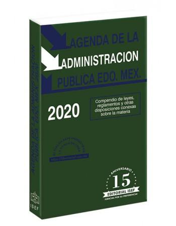 AGENDA DE LA ADMINISTRACIÓN PÚBLICA DEL ESTADO DE MÉXICO 2020