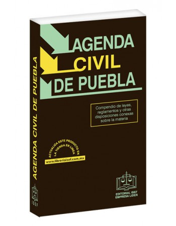 AGENDA CIVIL DEL ESTADO DE PUEBLA 2020