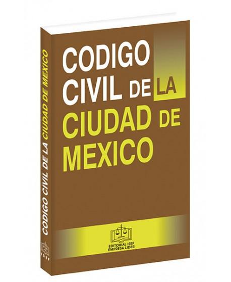 CÓDIGO CIVIL DE LA CIUDAD DE MEXICO 2020