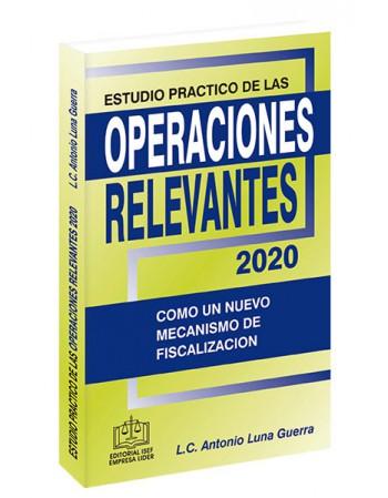 ESTUDIO PRACTICO DE LAS OPERACIONES RELEVANTES 2020