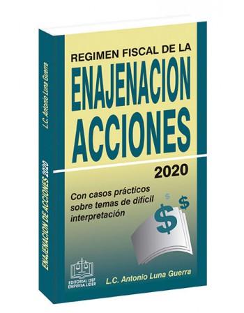 RÉGIMEN FISCAL DE LA ENAJENACIÓN DE ACCIONES 2020