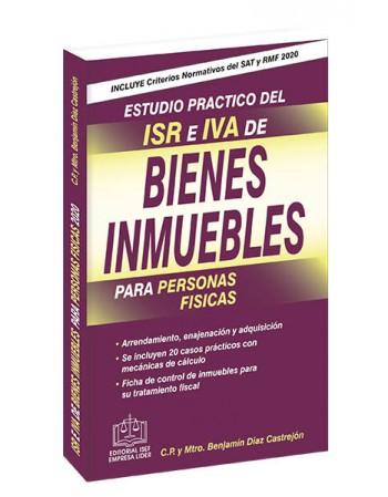 ESTUDIO PRÁCTICO DEL ISR E IVA DE BIENES INMUEBLES 2020