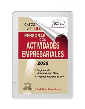 SWF CASOS PRACTICOS DEL ISR PARA PERSONAS FISICAS CON ACTIVIDADES EMPRESARIALES 2020