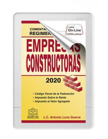 SWF COMENTARIOS PRÁCTICOS AL RÉGIMEN FISCAL DE EMPRESAS CONSTRUCTORAS 2020
