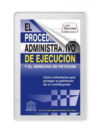 EL PROCEDIMIENTO ADMINISTRATIVO DE EJECUCION Y EL DERECHO DE PETICION 2020