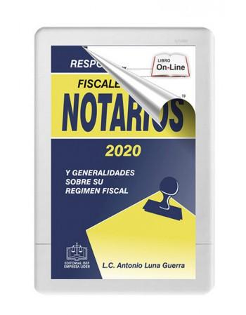 RESPONSABILIDADES FISCALES DE LOS NOTARIOS 2020