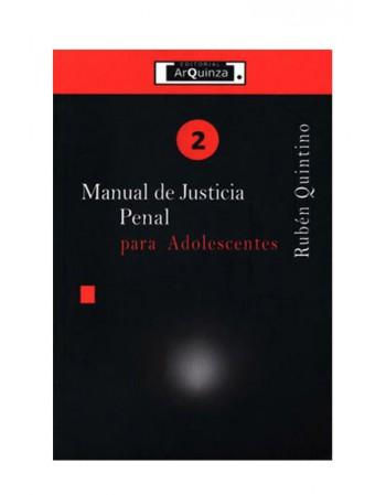 Manual de Justicia Penal para Adolescentes (DIJURIS)