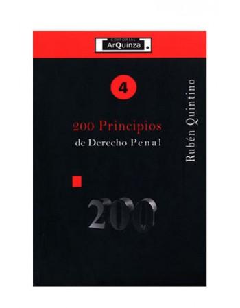 200 Principios de Derecho Penal (DIJURIS)