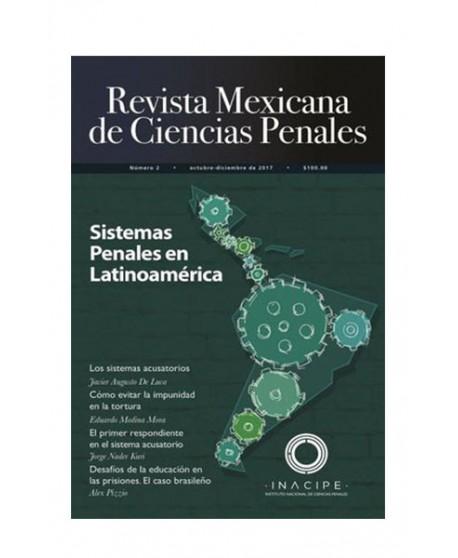Revista Mexicana de Ciencias Penales Num. 2 (Octubre-Diciembre 2017) (DIJURIS)
