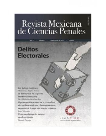 Revista Mexicana de Ciencias Penales Num. 3 (Enero-Marzo 2018) (DIJURIS)