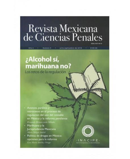 Revista Mexicana de Ciencias Penales Num. 5 (Julio-Septiembre 2018) (DIJURIS)