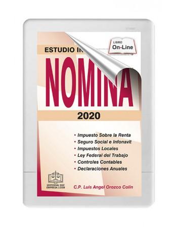 ESTUDIO INTEGRAL DE LA NÓMINA 2020