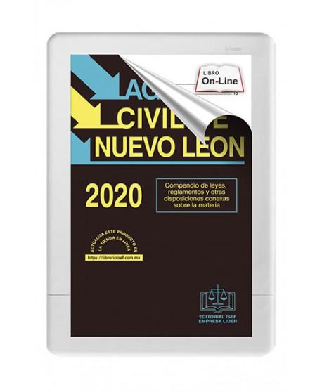 AGENDA CIVIL DE NUEVO LEÓN 2020